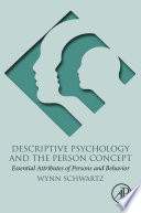 Descriptive Psychology and the Person Concept