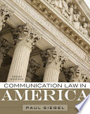 Communication Law in America Book