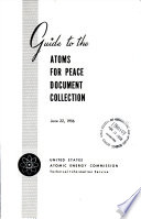 Guide To The Atoms For Peace Document Collection