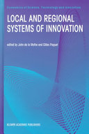 Local and Regional Systems of Innovation