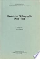 Bayerische Bibliographie