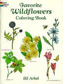 Favorite Wildflowers Coloring Book