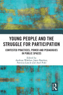 Pdf Young People and the Struggle for Participation Telecharger
