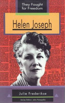 Books - Helen Joseph (They Fought For Freedom Series) | ISBN 9780636022409