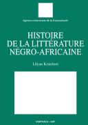Pdf Histoire de la littérature négro-africaine Telecharger