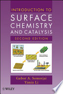 Introduction To Surface Chemistry And Catalysis Book PDF