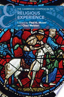 The Cambridge Companion to Religious Experience Book