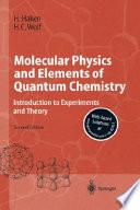 Molecular Physics And Elements Of Quantum Chemistry Book PDF