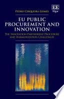 Eu Public Procurement And Innovation