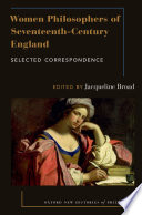 Women Philosophers of Seventeenth-Century England