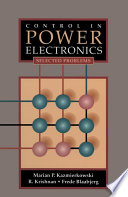 Control In Power Electronics Book PDF
