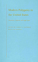 Pdf Modern Polygamy in the United States