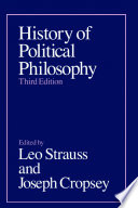 """""""History of Political Philosophy"""" by Leo Strauss, Joseph Cropsey"""