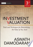 Investment Valuation Book