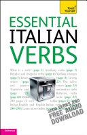 Essential Italian Verbs  Teach Yourself