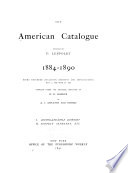 The American Catalogue Book PDF