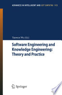 Software Engineering And Knowledge Engineering Theory And Practice