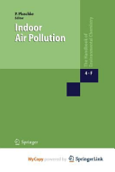 Indoor Air Pollution Book