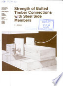 Strength of Bolted Timber Connections with Steel Side Members