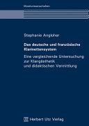 Das deutsche und französische Klarinettensystem