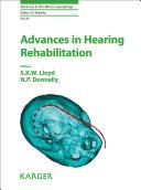 Advances in Hearing Rehabilitation Pdf/ePub eBook