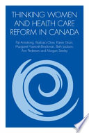 Thinking Women and Health Care Reform in Canada Book