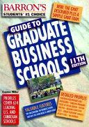 Barron s Guide to Graduate Business Schools