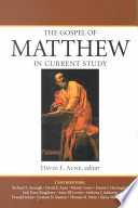 The Gospel Of Matthew In Current Study Book PDF