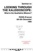 Seminar on Looking Through the Kaleidoscope