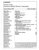 Journal of the American Medical Women s Association