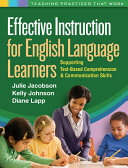 Effective Instruction for English Language Learners