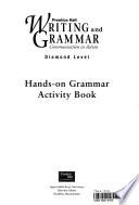 Prentice Hall Writing & Grammar Hands-On Grammar Activity Book Grade 12 2001c First Edition