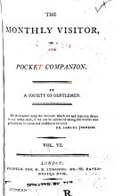The Monthly Visitor  and Entertaining Pocket Companion Book PDF