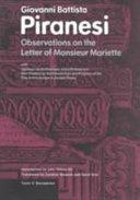 Observations on the Letter of Monsieur Mariette Pdf/ePub eBook