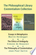the philosophical library existentialism collection essays in front cover
