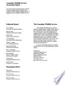 Occasional Paper - Canadian Wildlife Service