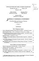 Materials In Biomedical Engineering