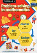 Primary Problem Solving in Mathematics