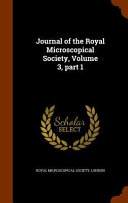 Journal Of The Royal Microscopical Society Volume 3