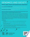 Genomics and Society Book