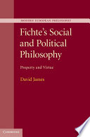 Fichte S Social And Political Philosophy