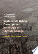 Sustainable Urban Development in the Age of Climate Change Book