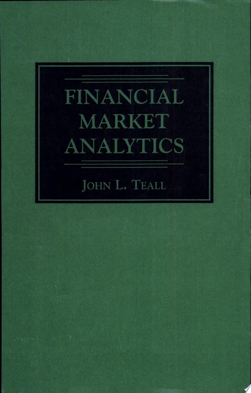Financial Market Analytics banner backdrop