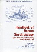 Handbook of Raman Spectroscopy