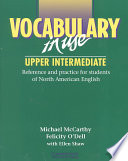 Vocabulary in Use Upper Intermediate Without Answers