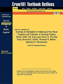 Outlines   Highlights for Making of the West  Peoples and Cultures  a Concise History  Since 1340  Vol  2