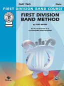 First Division Band Method, Part 2 for C Flute