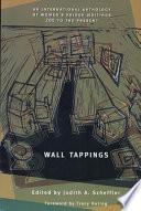 Wall Tappings Pdf/ePub eBook