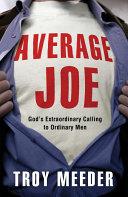 Average Joe ebook