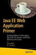 Java EE Web Application Primer
